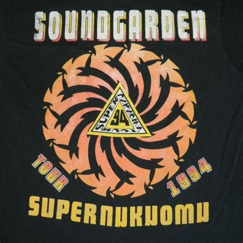 vintage soundgarden    shirt