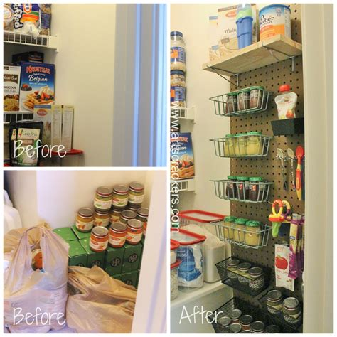 Baby Pantry by Diy Pegboard Pantry Organizer