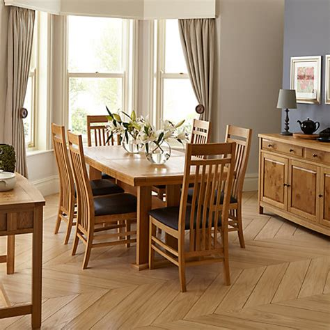 buy john lewis burford extending   seater dining table