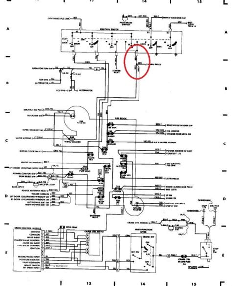 1999 jeep horn diagram 1999 free engine image
