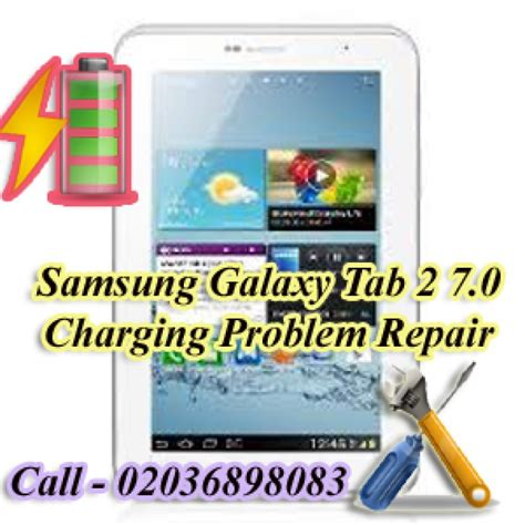 Samsung Galaxy Tab 2 P3100 7 0 samsung galaxy tab 2 7 0 p3100 charging problem repair in