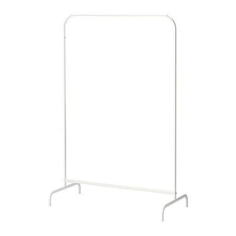 White Clothes Rack by New Mulig Clothes Garment Coat Rack Fixture Organizer