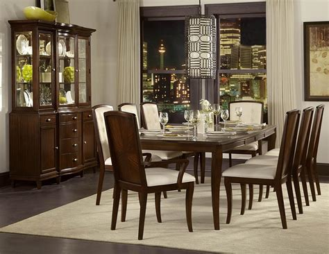 dining room set with buffet homelegance abramo 10 piece rectangular dining room set w