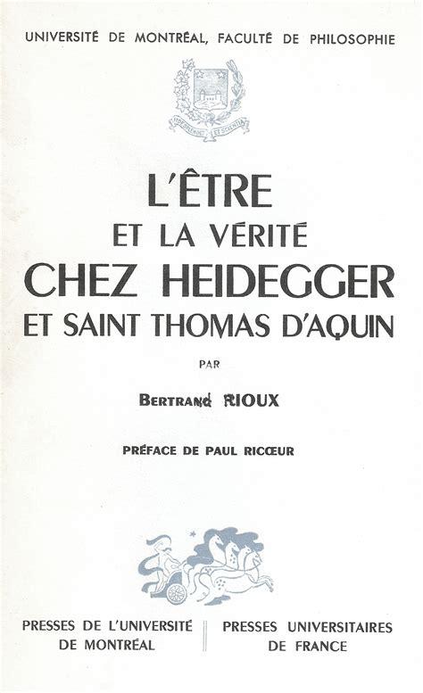 fondements de la mtaphysique 1975742591 bertrand rioux philosophe de l existence