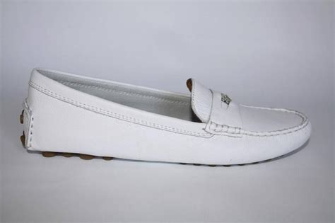 coach nicola loafer womens coach a0957 nicola pebble leather driving moccasin