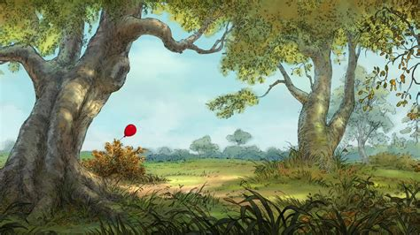 winnie the pooh animation backgrounds search - Winnie The Pooh Tree