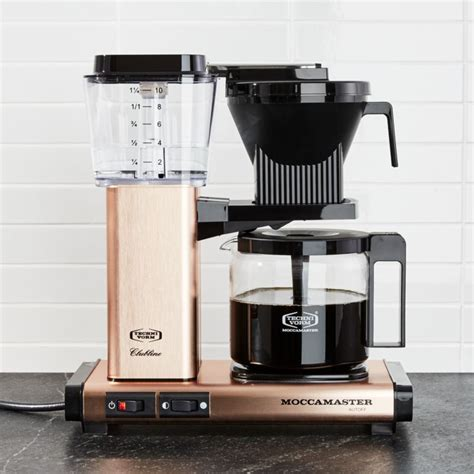 moccamaster  cup copper coffee maker reviews crate