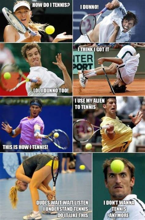 Funny Tennis Memes - i forgot how to throw a boomerang but t by hank green