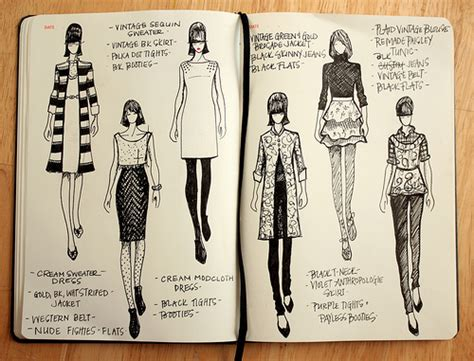 fashion design drawing books jessica schroeder s sketches fashionary flickr
