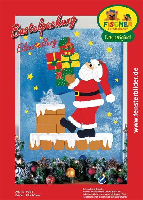 Fensterbilder Weihnachten Basteln Papier Vorlagen by Fensterbild Bastelvorlage Eilzustellung Fischer