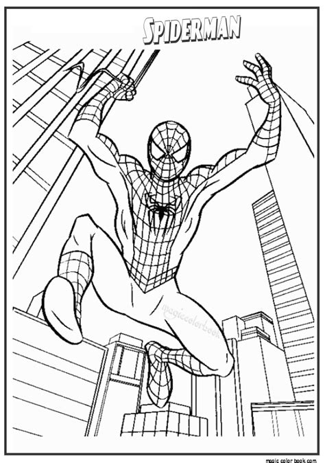 The Amazing Spider Coloring Pages the amazing spider coloring pages