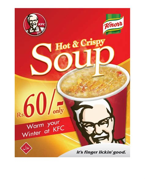 Soup Kfc analysis of ads kfc soup
