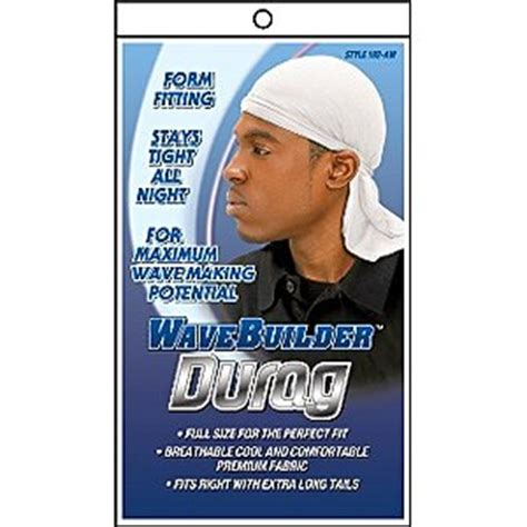 how to wear a dew rag with short hair amazon com wave builder du rag with long tie white