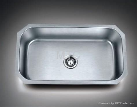 European Kitchen Sinks Stainless Steel European Style Undermount Single Bowl Kitchen Sinks Mtc 8047a Mtc China