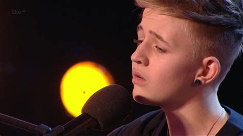 14 year old songwriter bailey britain s got talent s08e03 bailey mcconnell 14 year old