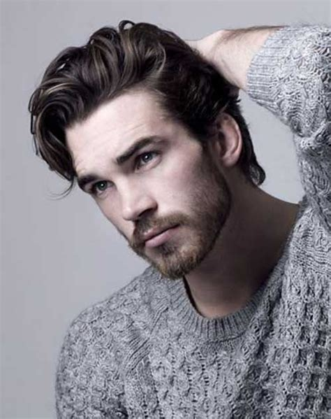 pictures of men with long thick hair with receding hair line 20 best mens thick hair mens hairstyles 2018
