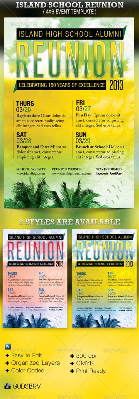 Class Reunion Flyer Sles 187 Dondrup Com Reunion Flyer Template Free