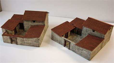 3d model and draws of house in athens irene kastriti model of an ancient greek house models of houses