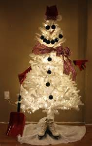 frosty the snowman white christmas tree future home