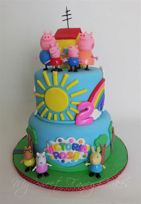 peppa pug cake peppa pig birthday cake auto design tech
