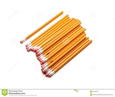 new pencil new pencils royalty free stock photography image 15465557