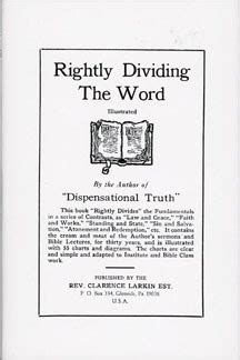1 rightly dividing the bible volume one the basics and background of dispensationalism books rightly dividing the word bible baptist bookstore