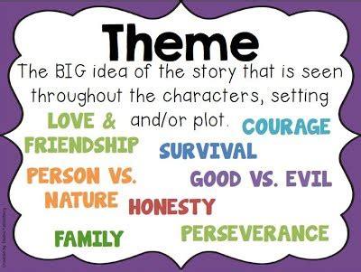 story elements themes story elements mrs leiterman