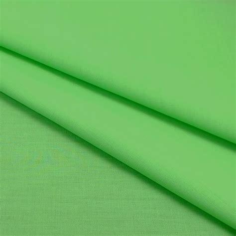 plain polycotton fabric 112cm width lime 1 metre