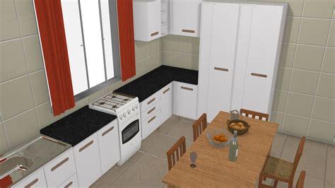 cozinha de casa 3 de dekko planta 3d mooble kappesberg