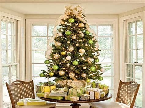 decoration green christmas tree decorations interior