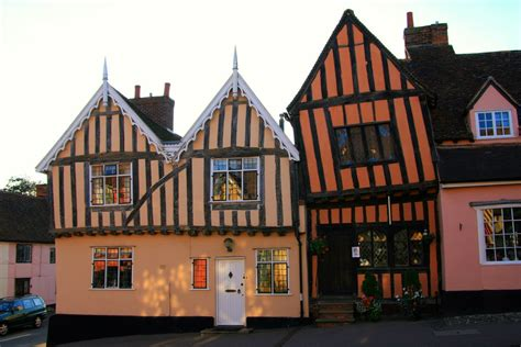 crooked house a vacation home tilts to the right it is lavenham crooked houses unusual places
