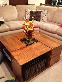 Coffee Table With Storage by Square Coffee Table With Storage Baskets Home Design Ideas