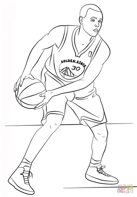free curry coloring pages stephen curry coloring page free printable coloring pages