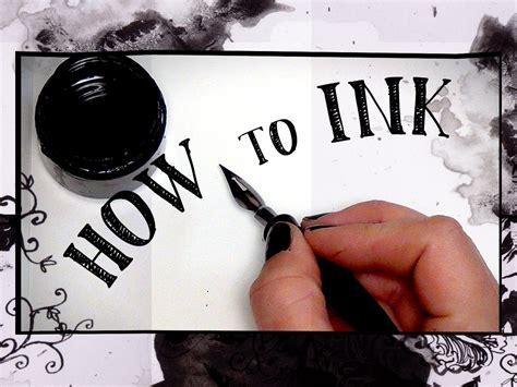 how to ink how to ink supplies techniques hta 9