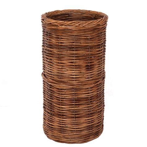 Wastepaper Basket Rattan Umbrella Basket