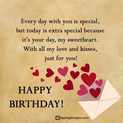 Sweet Happy Birthday Wishes For Boyfriend Sayingimages Com