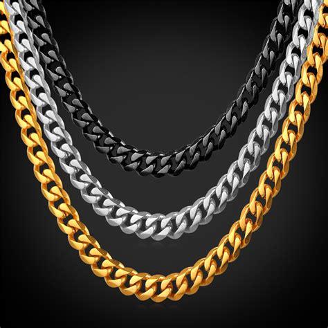 cadenas cubanas stainless steel compra cuban stainless steel chain online al por mayor de