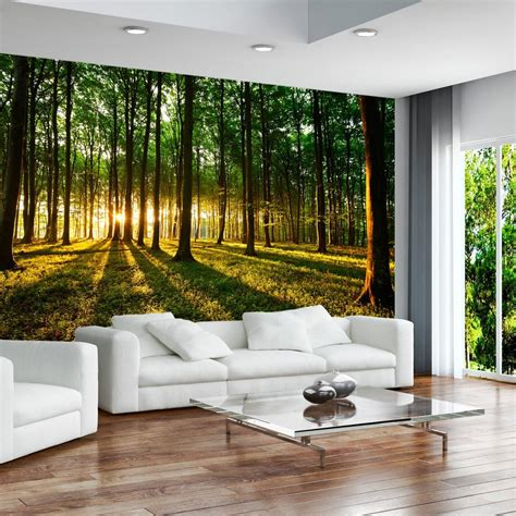 modern mural wallpaper 350x245 cm 3 colours to choose non woven