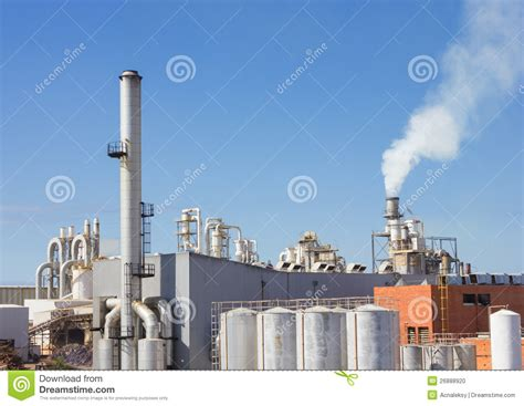 Paper Factory - paper factory stock photo image 26888920