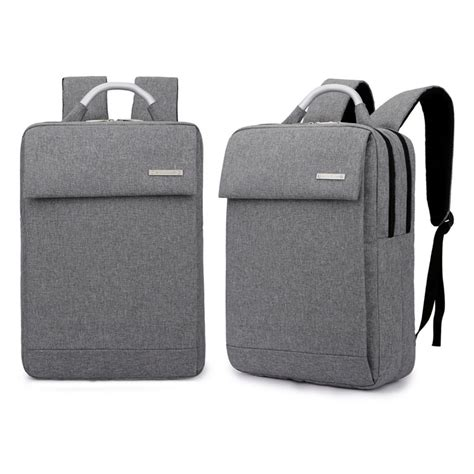 Tas Polo Laptop Ransel Tas Ransel Laptop Business Style Fit To 15 Inch Gray