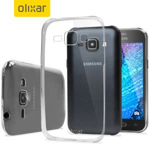 Samsung J1 2015 Slim Armour flexishield ultra thin samsung galaxy j1 2015 gel 100 clear