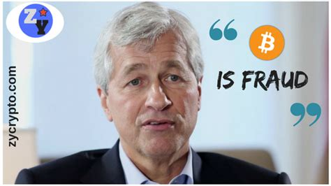 bitcoin jp morgan jamie dimon targetting dip makes another fraud comment on