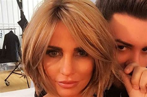 she cut her hair very short katie price reveals sophisticated new look as she cuts
