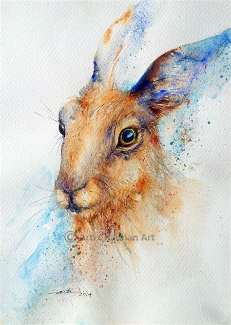 watercolor rabbit tutorial 112 best images about watercolor rabbits on pinterest