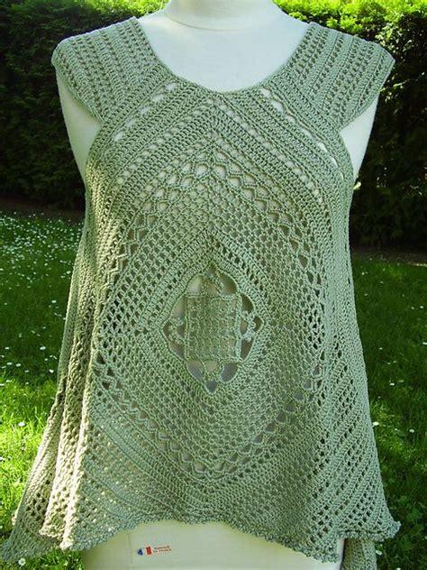 pinterest filet crochet blouses ravelry lacy swing top pattern by mari lynn patrick