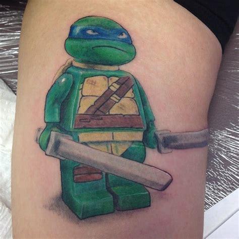 ageless arts tattoo tennage mutant turtle lego yelp