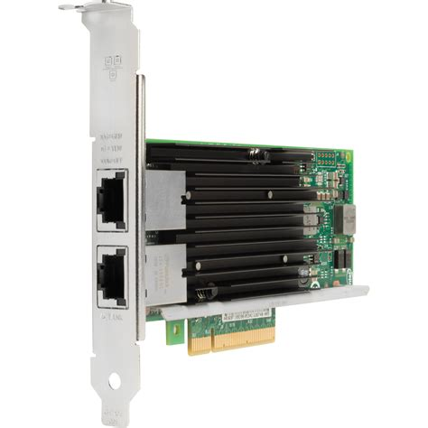 Lenovo Thinkserver X540 T2 Pcie 10gb 2 Port Base T Ethernet Adapter hp intel x540 10gb ethernet dual port adapter k4t75aa b h photo