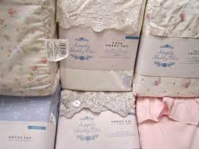 simply shabby chic sheet set white pink embroidered indigo blue floral mon amie ebay