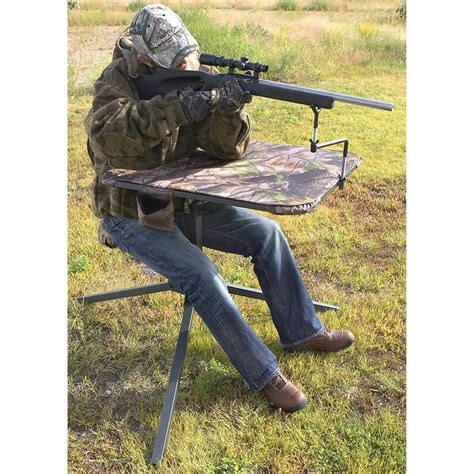 swivel bench guide gear 174 360 degree swivel shooting bench 174547 shooting rests at sportsman s