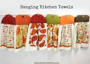 Handmade Kitchen Towels - handmade hanging kitchen towels hanging kitchen towels